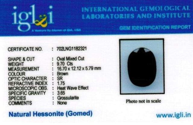 11-ratti-certified-hessonite-gomed-stone Certificate (ID-168)