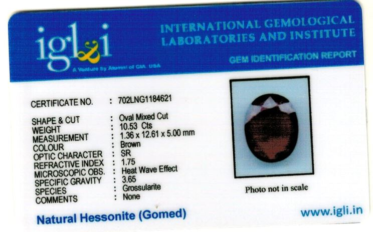 12-ratti-certified-hessonite-gomed-stone Certificate (ID-138)