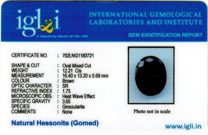 14-ratti-certified-hessonite-gomed-stone Certificate (ID-141)