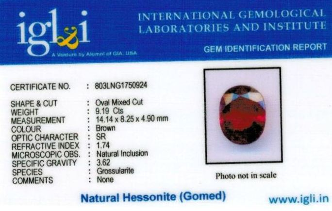 10.25-ratti-certified-hessonite-gomed-stone Certificate (ID-189)