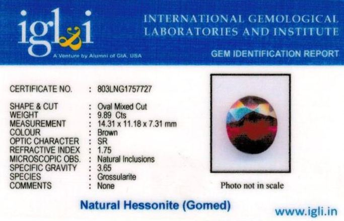 11-ratti-certified-hessonite-gomed-stone Certificate (ID-193)