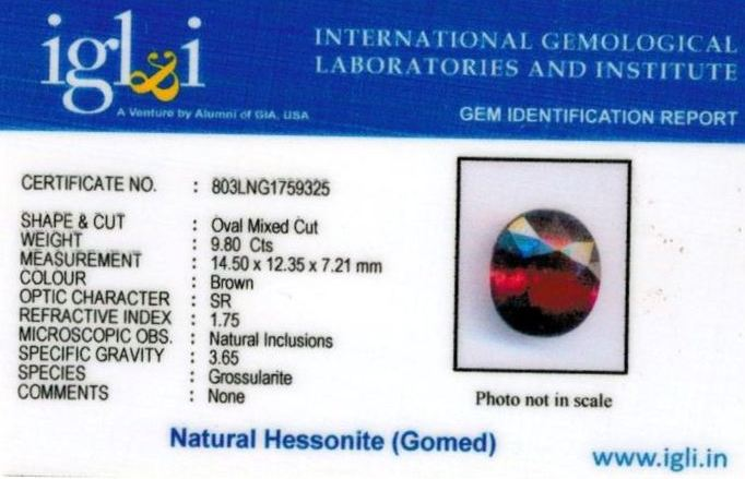 11-ratti-certified-hessonite-gomed-stone Certificate (ID-201)