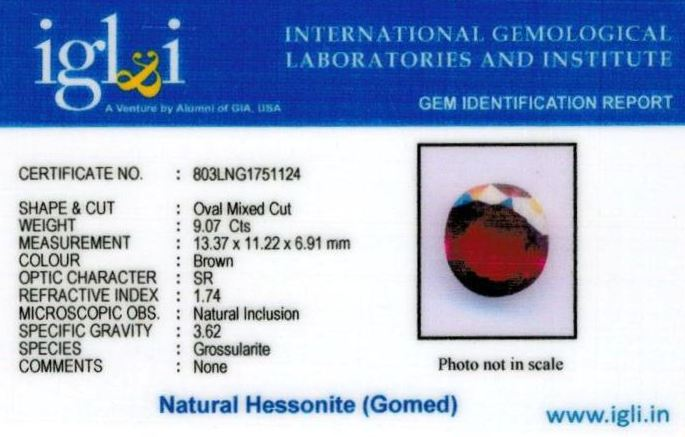 10.25-ratti-certified-hessonite-gomed-stone Certificate (ID-188)