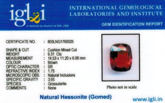 10.25-ratti-certified-hessonite-gomed-stone Certificate (ID-200)