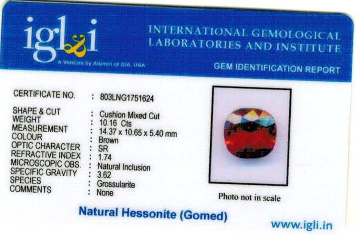 11.25-ratti-certified-hessonite-gomed-stone Certificate (ID-170)