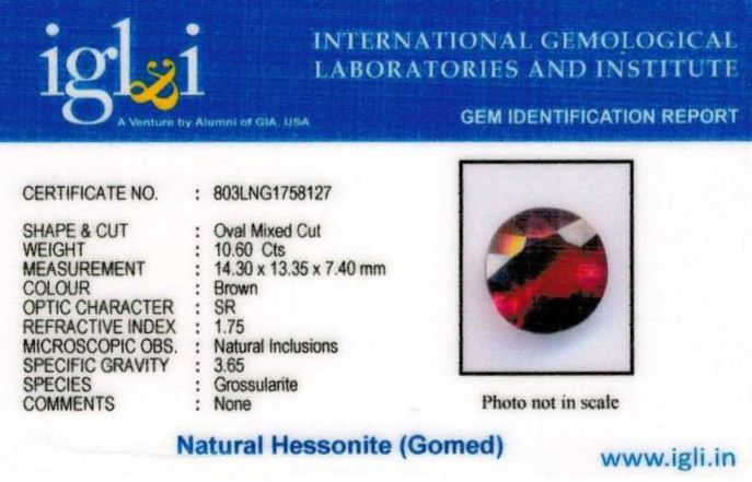 12-ratti-certified-hessonite-gomed-stone Certificate (ID-172)