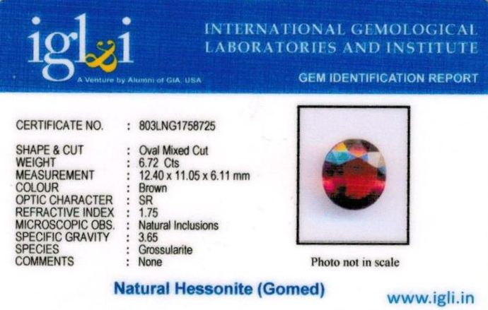 7.25-ratti-certified-hessonite-gomed-stone Certificate (ID-176)