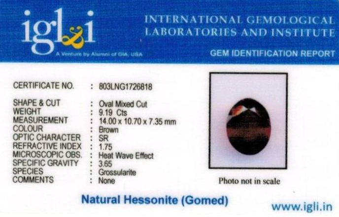 10.25-ratti-certified-hessonite-gomed-stone Certificate (ID-217)