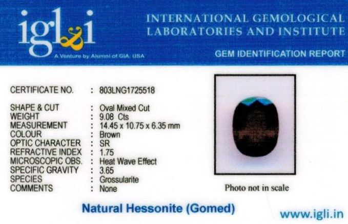 10.25-ratti-certified-hessonite-gomed-stone Certificate (ID-214)