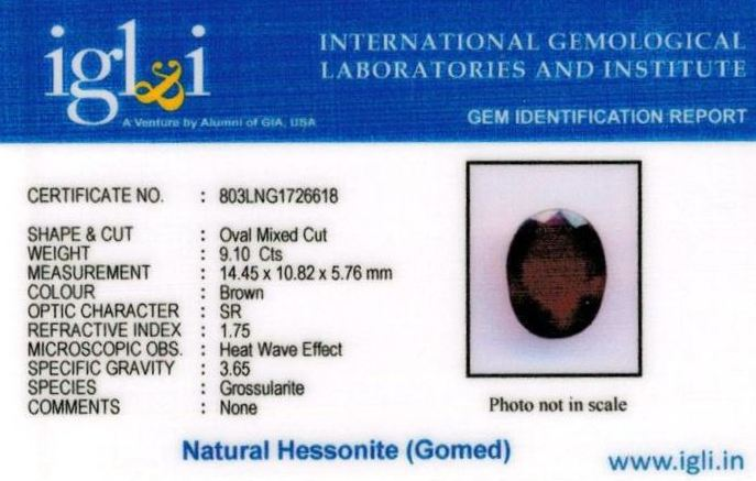 10.25-ratti-certified-hessonite-gomed-stone Certificate (ID-216)