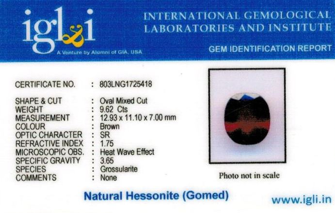 11-ratti-certified-hessonite-gomed-stone Certificate (ID-222)