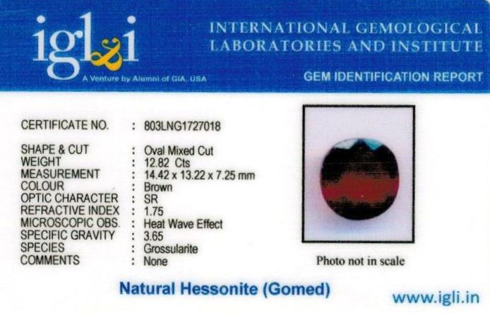 14.25-ratti-certified-hessonite-gomed-stone Certificate (ID-206)