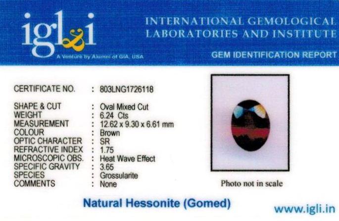7-ratti-certified-hessonite-gomed-stone Certificate (ID-208)