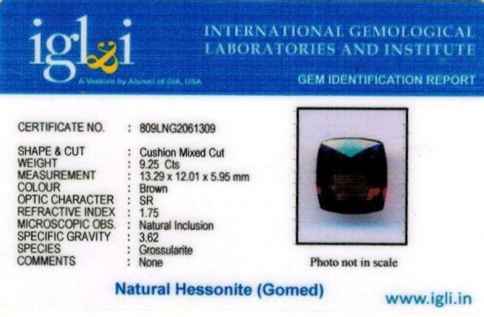 10.25-ratti-certified-hessonite-gomed-stone Certificate (ID-259)