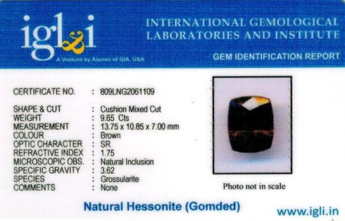 11-ratti-certified-hessonite-gomed-stone Certificate (ID-261)