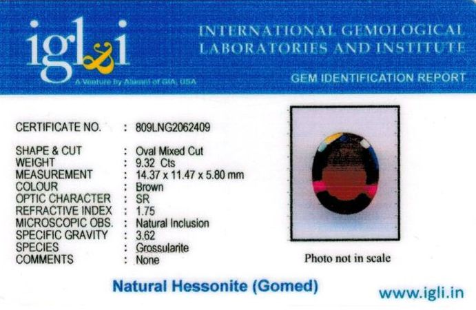 10.25-ratti-certified-hessonite-gomed-stone Certificate (ID-260)