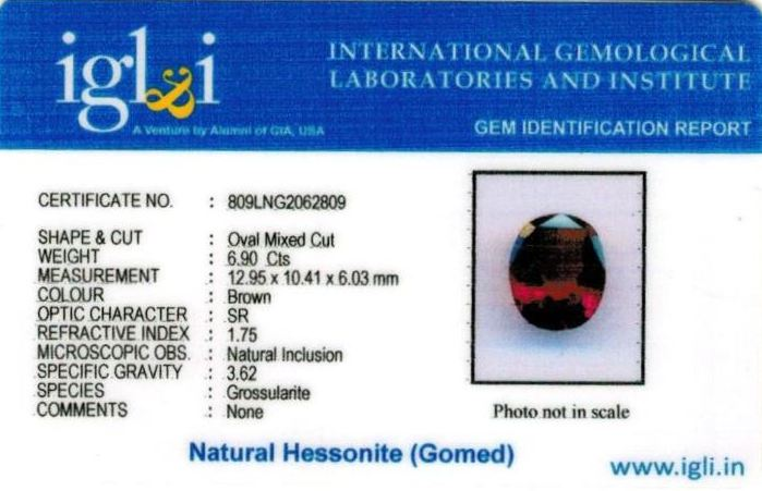 8-ratti-certified-hessonite-gomed-stone Certificate (ID-251)