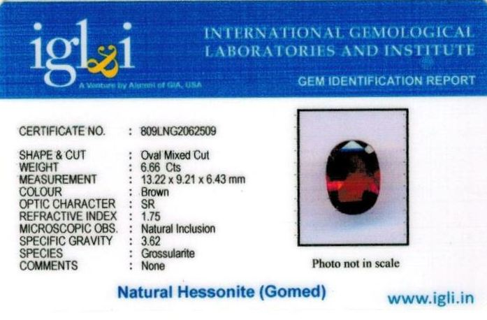 7.25-ratti-certified-hessonite-gomed-stone Certificate (ID-250)