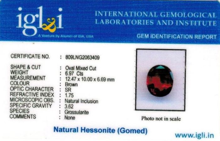 8-ratti-certified-hessonite-gomed-stone Certificate (ID-252)