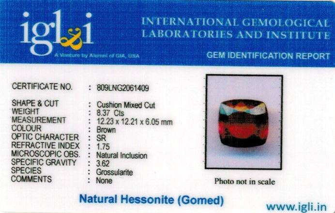 9.25-ratti-certified-hessonite-gomed-stone Certificate (ID-245)