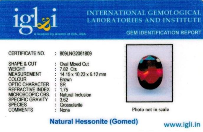 9-ratti-certified-hessonite-gomed-stone Certificate (ID-256)