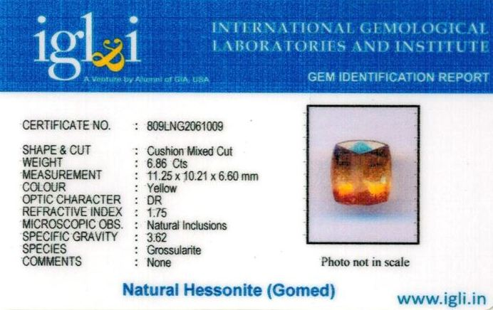 8-ratti-certified-yellow-hessonite-gomed Certificate (ID-267)