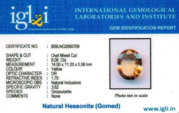 9-ratti-certified-yellow-hessonite-gomed Certificate (ID-273)
