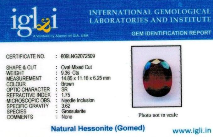 10.25-ratti-certified-hessonite-gomed Certificate (ID-311)