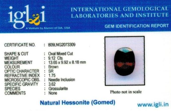 10.25-ratti-certified-hessonite-gomed Certificate (ID-308)