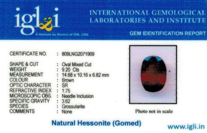 10.25-ratti-certified-hessonite-gomed Certificate (ID-310)