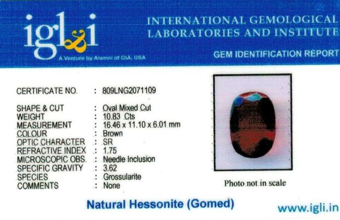 12.25-ratti-certified-hessonite-gomed Certificate (ID-283)