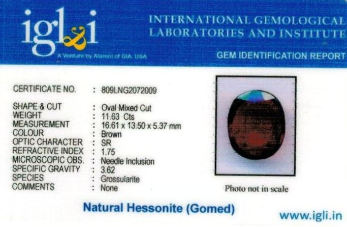 13-ratti-certified-hessonite-gomed Certificate (ID-286)