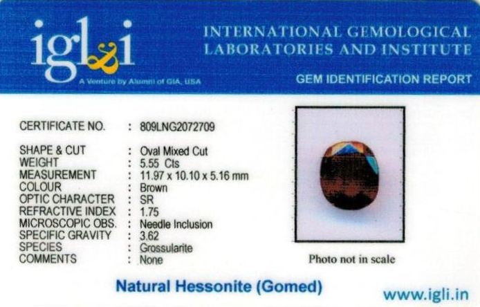 6.25-ratti-certified-hessonite-gomed Certificate (ID-288)