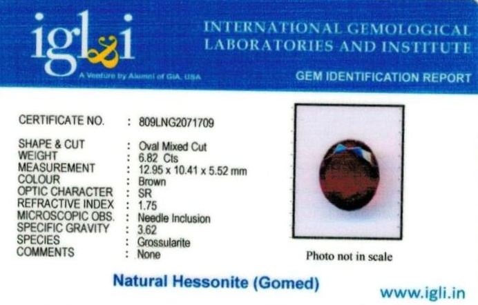 8-ratti-certified-hessonite-gomed Certificate (ID-294)
