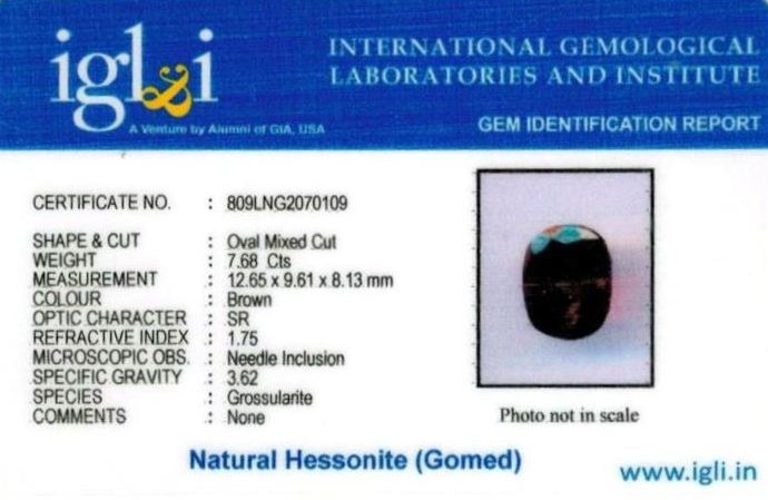 9-ratti-certified-hessonite-gomed Certificate (ID-300)
