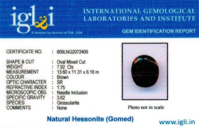 9-ratti-certified-hessonite-gomed Certificate (ID-302)