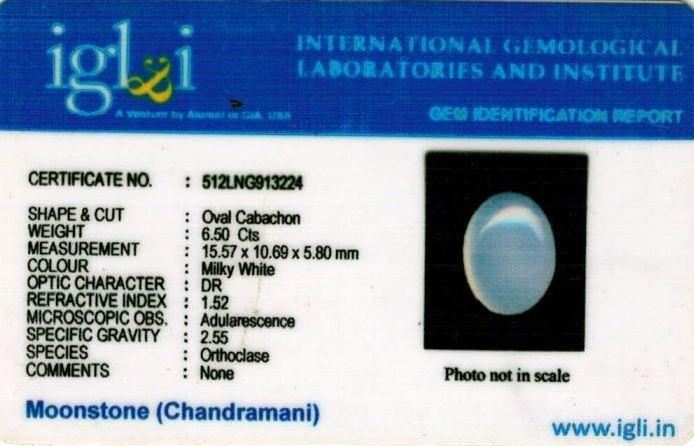 7.25-ratti-certified-moonstone Certificate (ID-122)