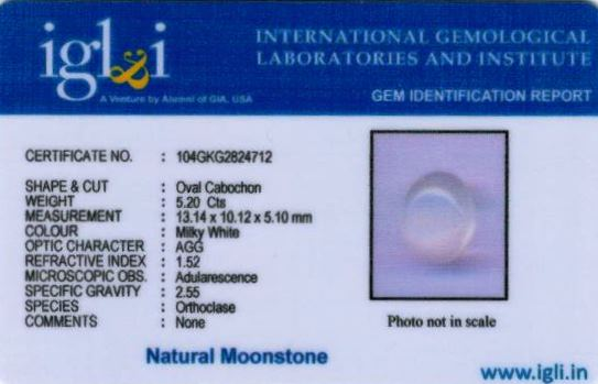 6-ratti-certified-moonstone Certificate (ID-130)