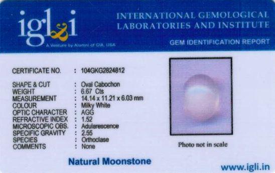 7.25-ratti-certified-moonstone Certificate (ID-133)