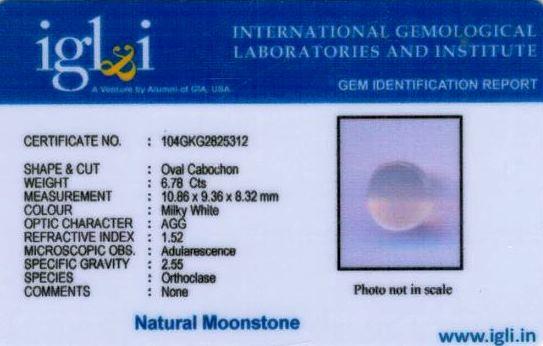 8-ratti-certified-moonstone Certificate (ID-134)