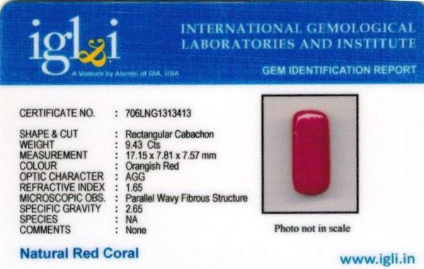 10.48-ratti-certified-red-coral-stone Certificate (ID-279)