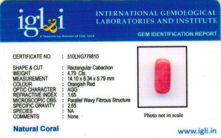 5.32-ratti-certified-red-coral-gemstone Certificate (ID-217)