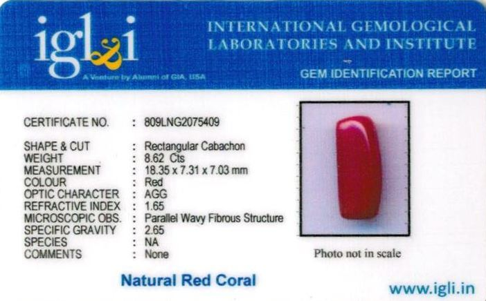 10-ratti-certified-red-coral-stone Certificate (ID-298)