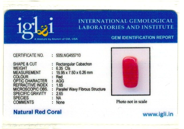 7.06-ratti-certified-red-coral-gemstone Certificate (ID-201)