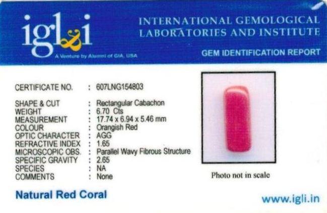 7.44-ratti-certified-red-coral-gemstone Certificate (ID-232)