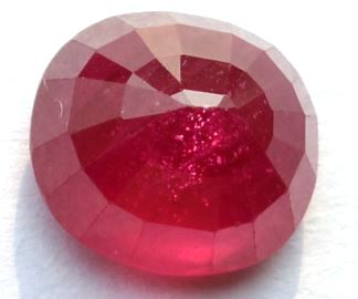 Buy 8 Carat Natural Ruby (Manak) IGLI Certified
