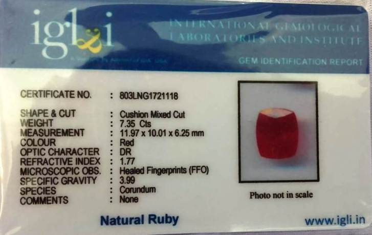 8.25-ratti-certified-ruby-stone Certificate (ID-247)