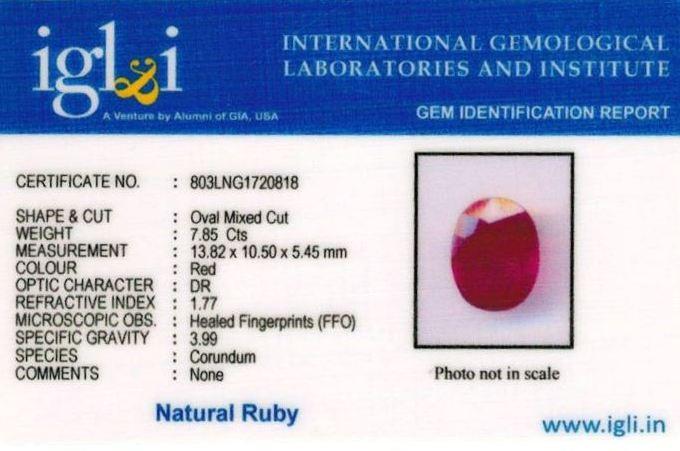 9-ratti-certified-ruby-stone Certificate (ID-254)