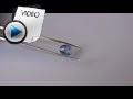6.82 Carat Blue Sapphire (Neelam) Stone Video