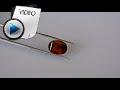 7.8 Carat Hessonite (Gomed) Stone Video